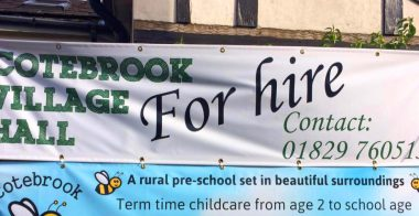 Village Hall For Hire